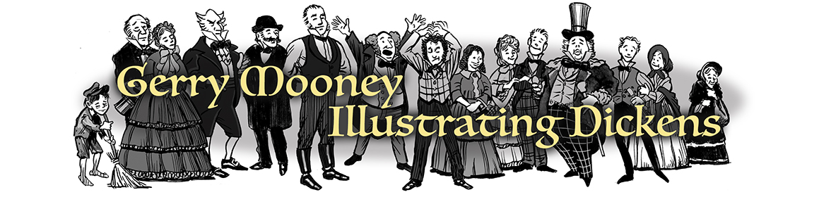 Gerry Mooney Illustrating Dickens